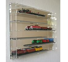 vitrine pour maquette train. Black Bedroom Furniture Sets. Home Design Ideas